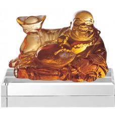 WS-11052歡喜彌勒佛脫臘精品琉璃作品