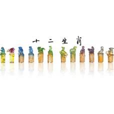WS-21046十二生肖精品脫臘琉璃印章