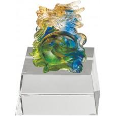 WS-31003龍(二)精品脫臘琉璃作品