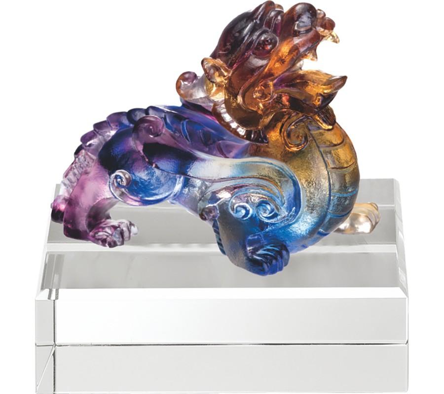 WS-51019小貔貅(單)精品脫臘琉璃擺飾作品