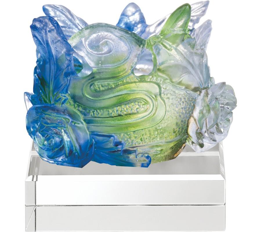 WS-51028馥郁芬芳精品脫臘琉璃擺飾作品