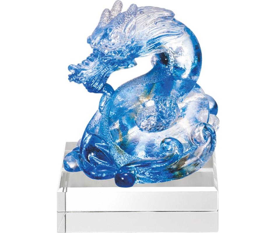 WS-51032榮躍(二)精品脫臘琉璃擺飾作品
