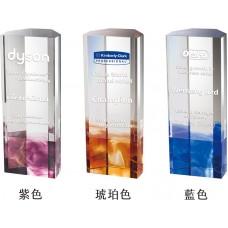 WS-42031彩虹琉璃水晶獎杯