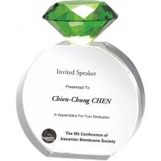 WS-81002鑽石水晶獎牌