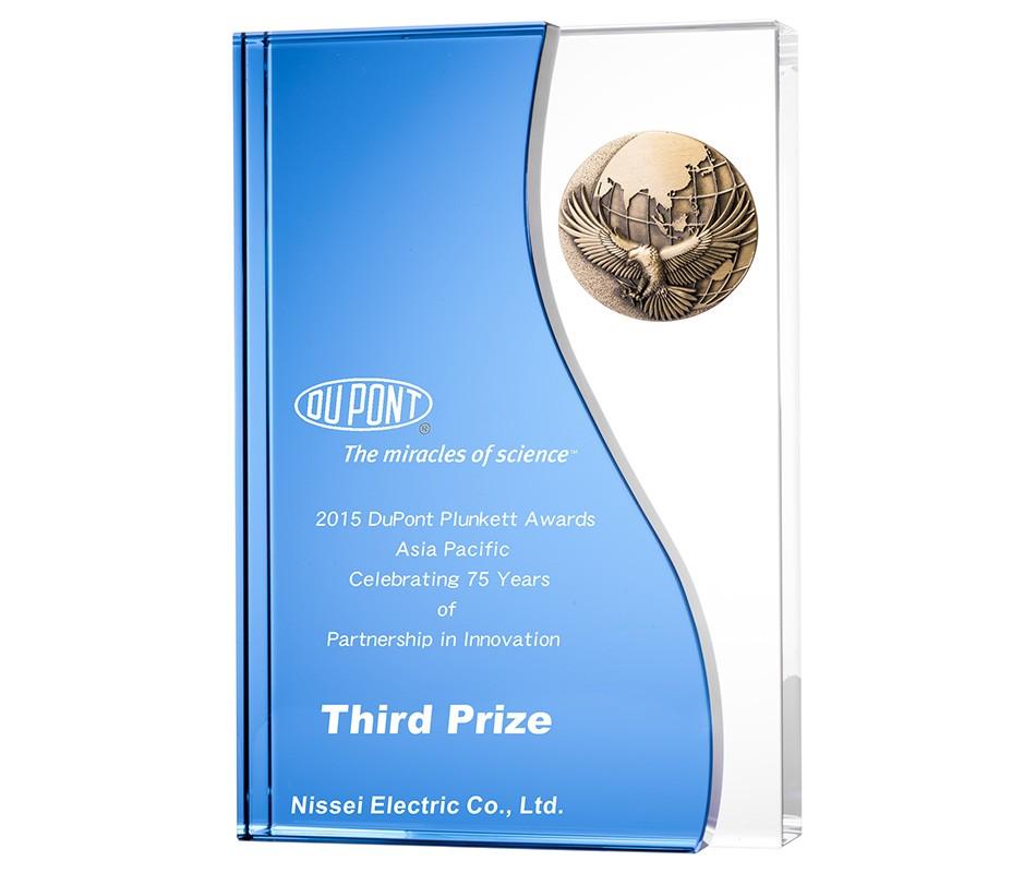 WS-81020B水晶金屬獎牌