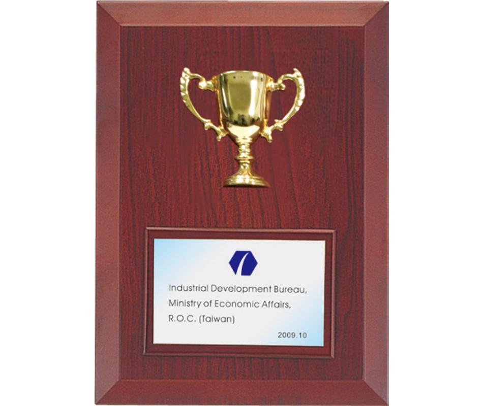 WS-04110半立體金屬獎杯造型獎牌