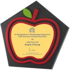 WS-34026蘋果造型木質獎牌