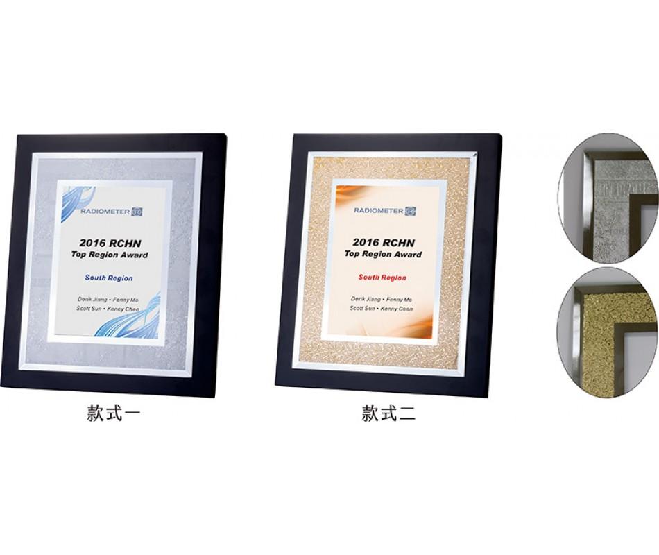 WS-54016玻璃鏡面花邊造型獎牌