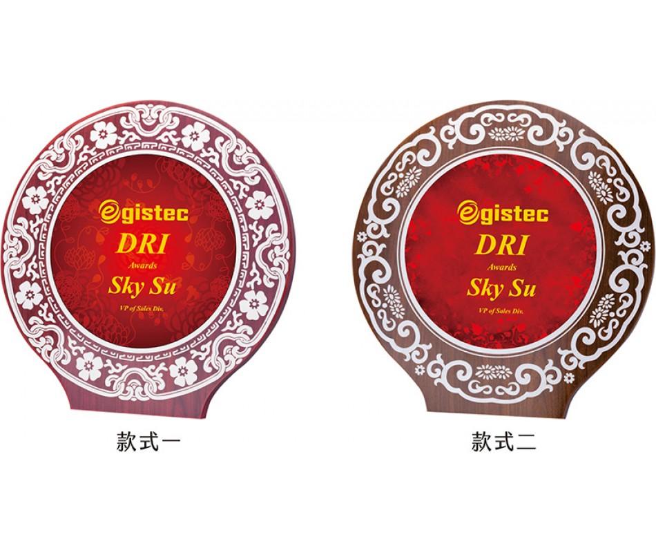 WS-54017刻花造型木質獎牌