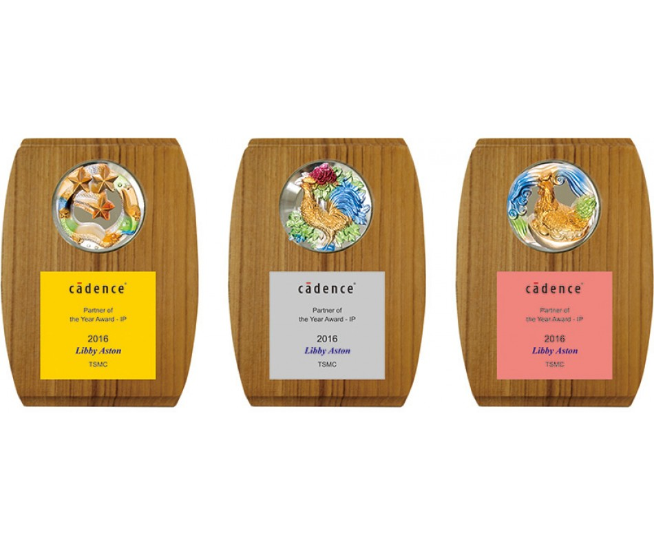 WS-54032脫蠟琉璃木質獎牌