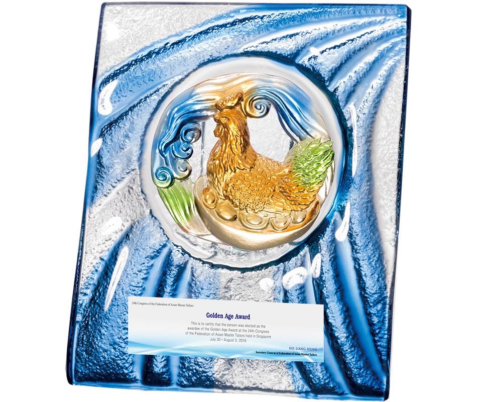 WS-55010琉璃晶采獎牌