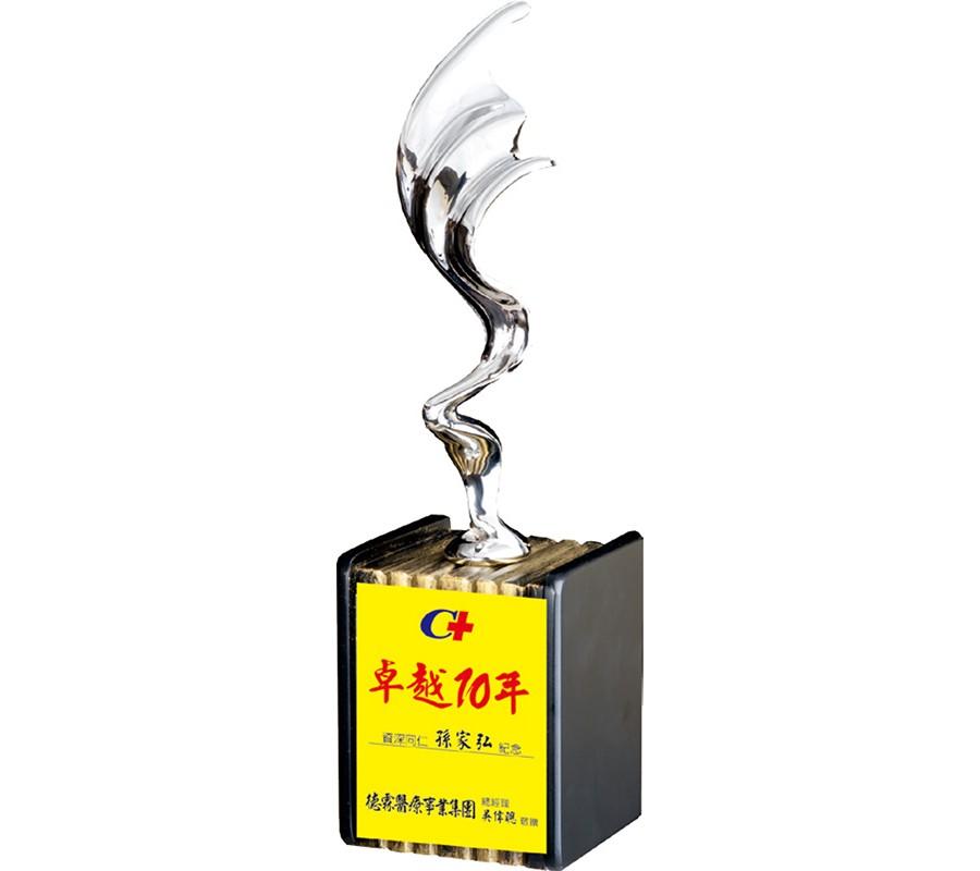 WS-46041金屬木質獎座