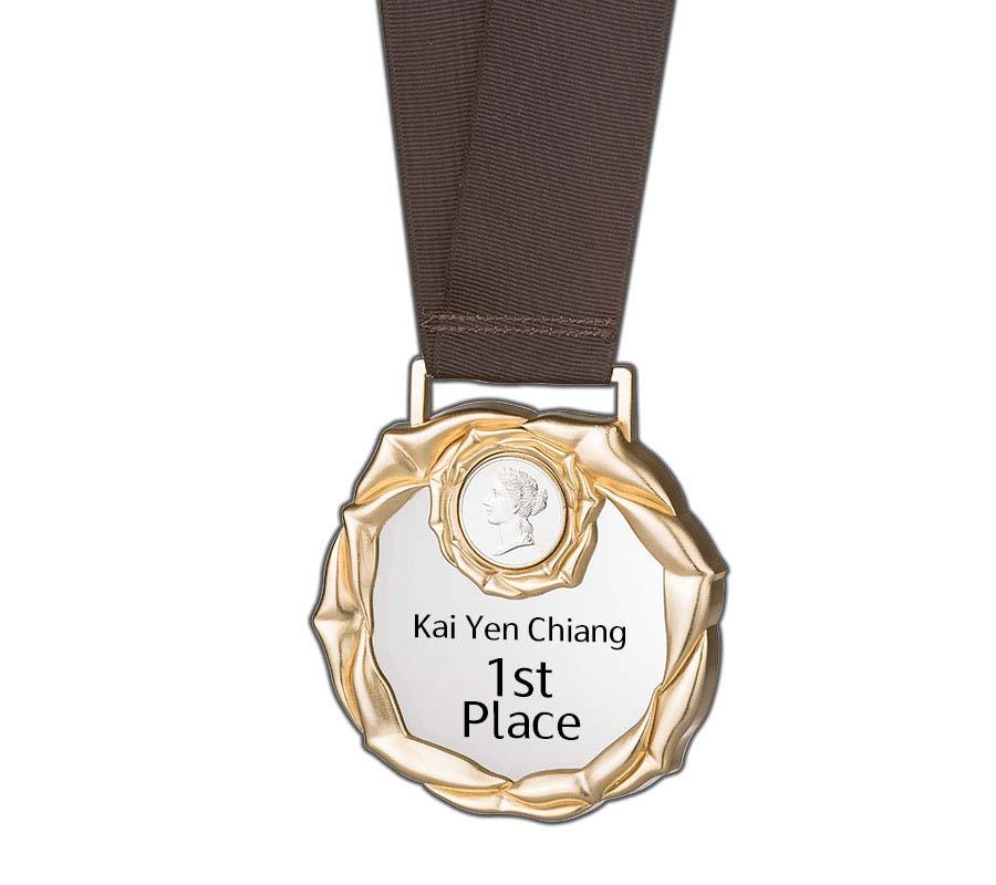 WS-91001頂級高質感運動獎章