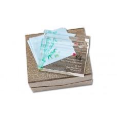 WS-99015 訂製內雕文案夾彩水晶名片文鎮